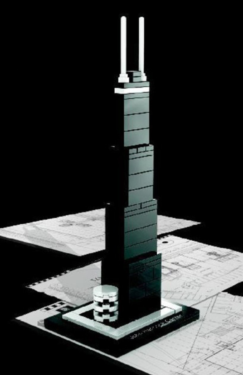 Lego John Hancock Center