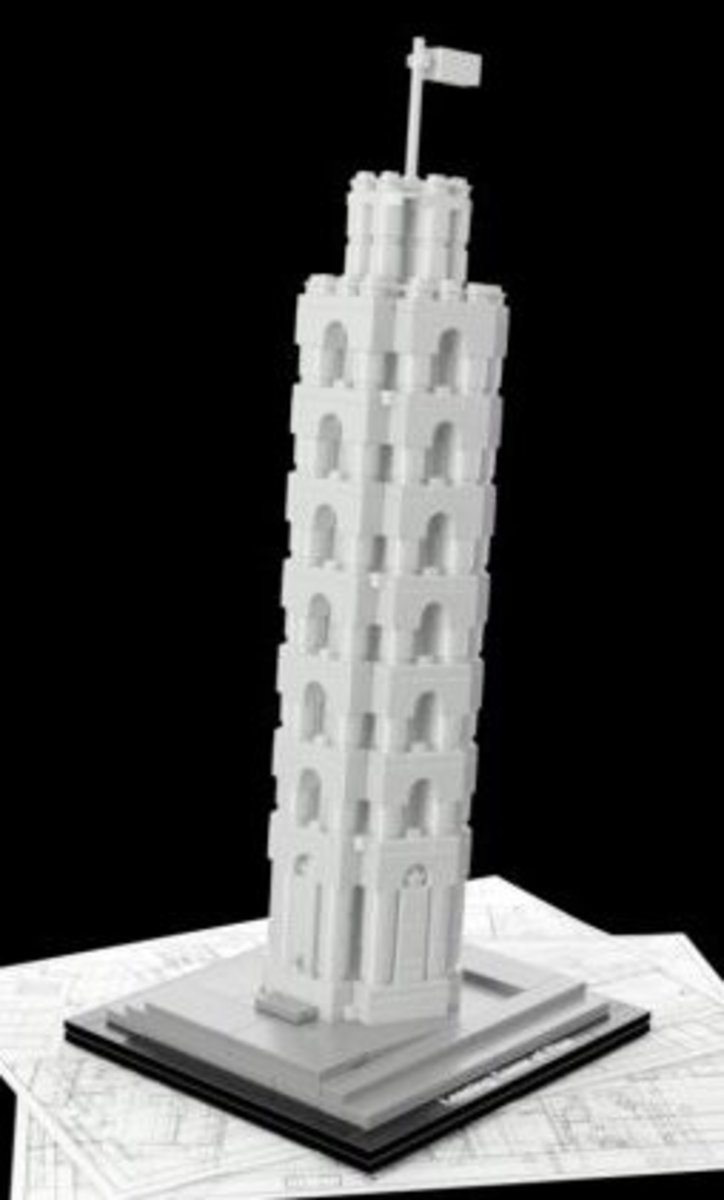 Lego Leaning Tower of Pisa