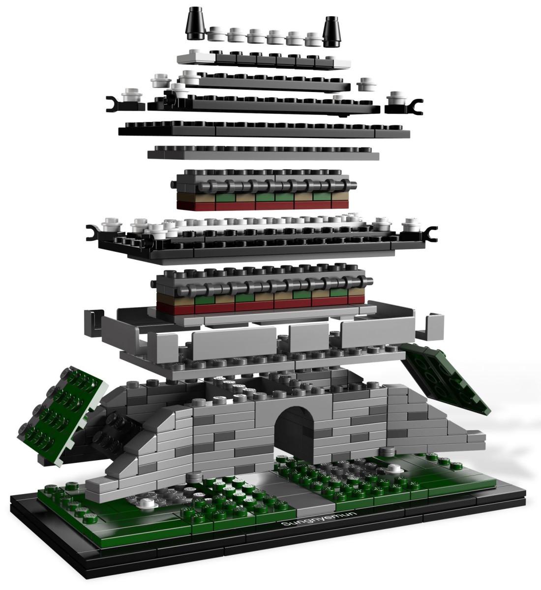 Lego Sungnyemun Gate