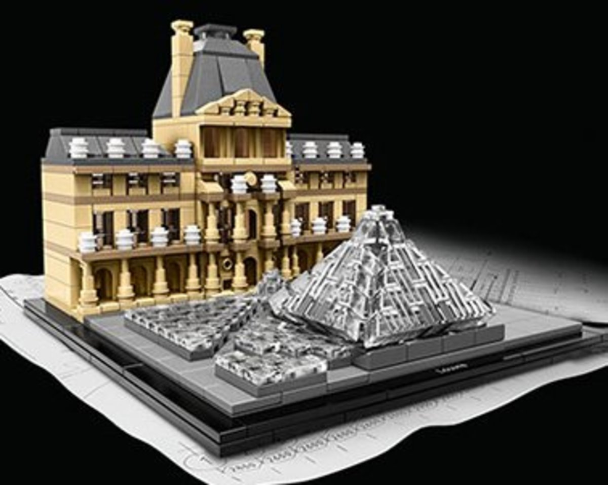 Lego Louvre Museum