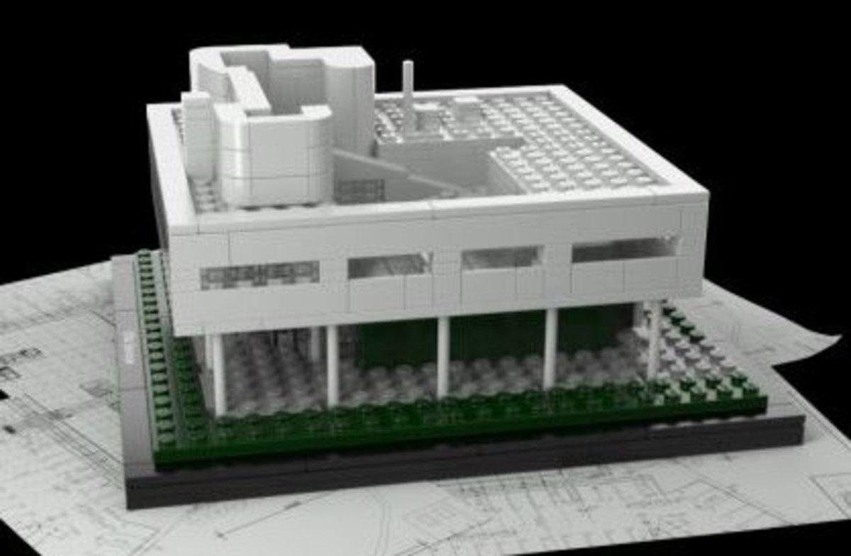 Lego Villa Savoye