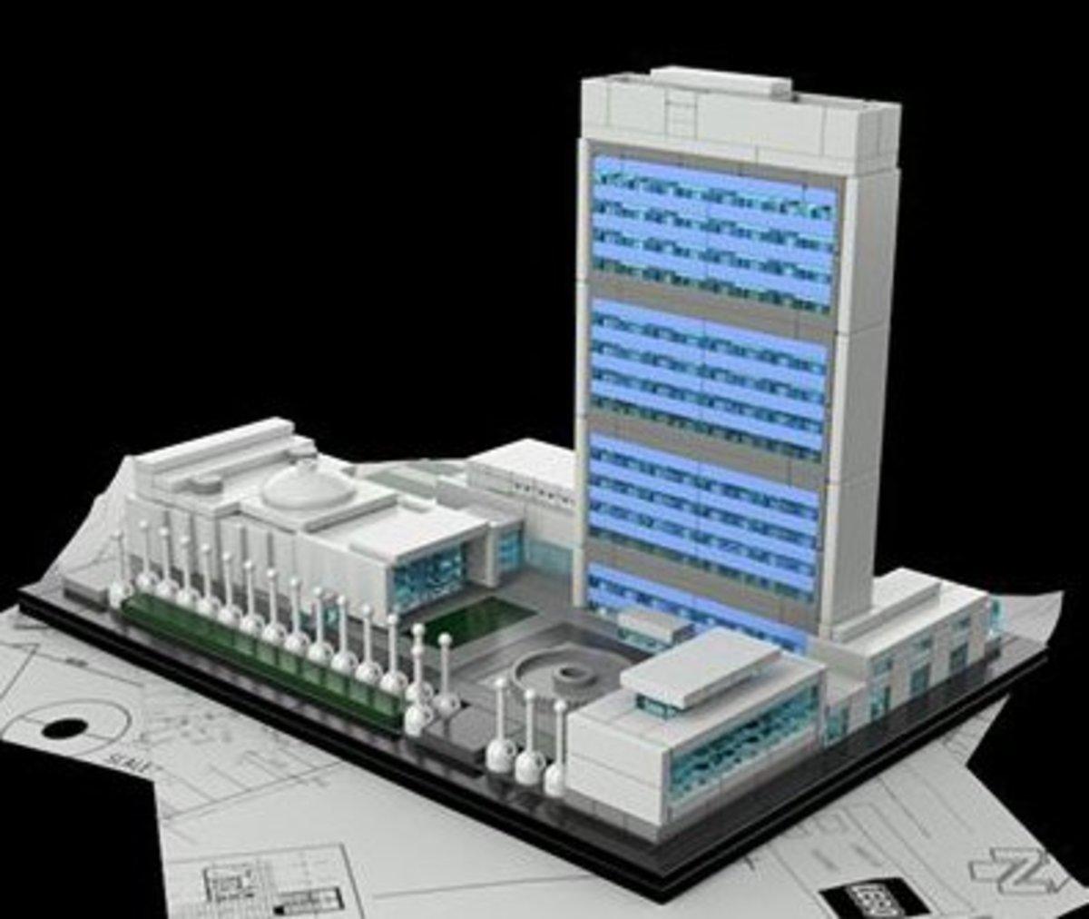 Lego UN Building