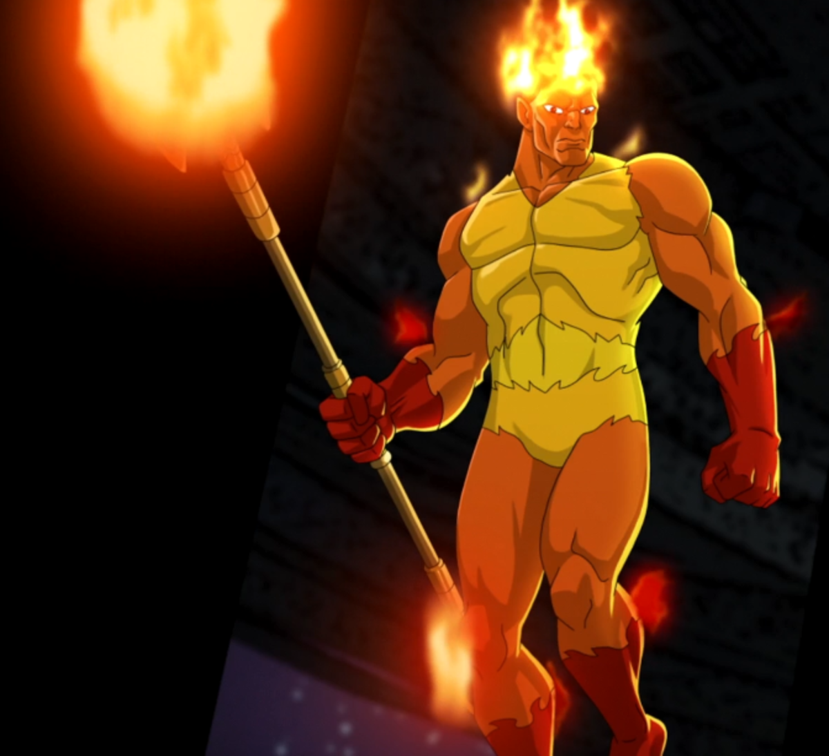 Firelord, one of Galactus's earlier heralds