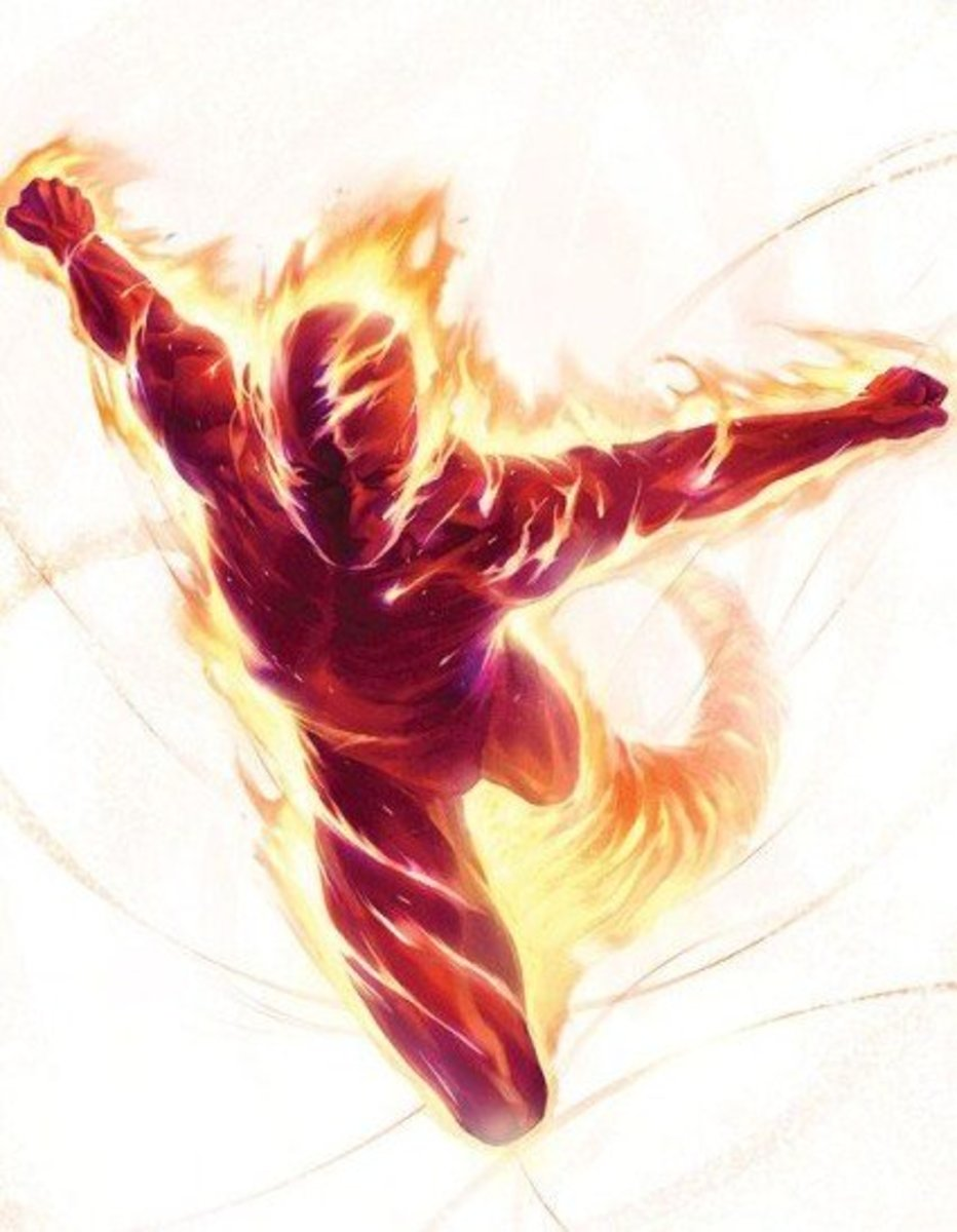 The ORIGINAL Human Torch (Golden Age)