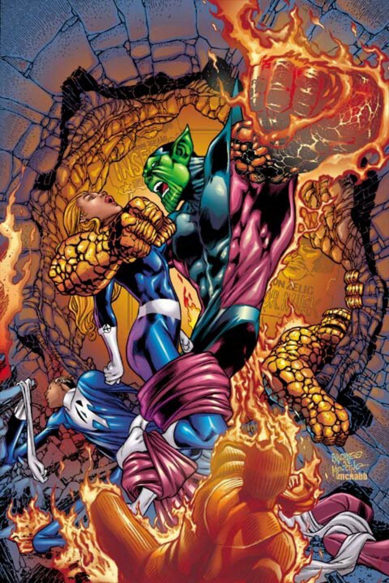 Super Skrull, the entire FF in one guy
