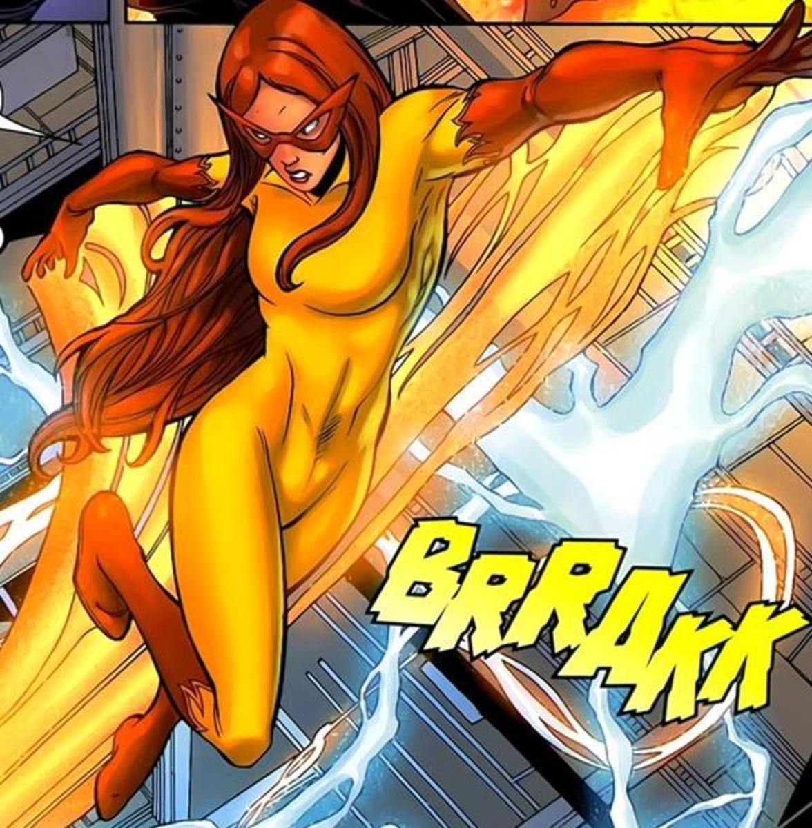 Firestar, Angelica Jones