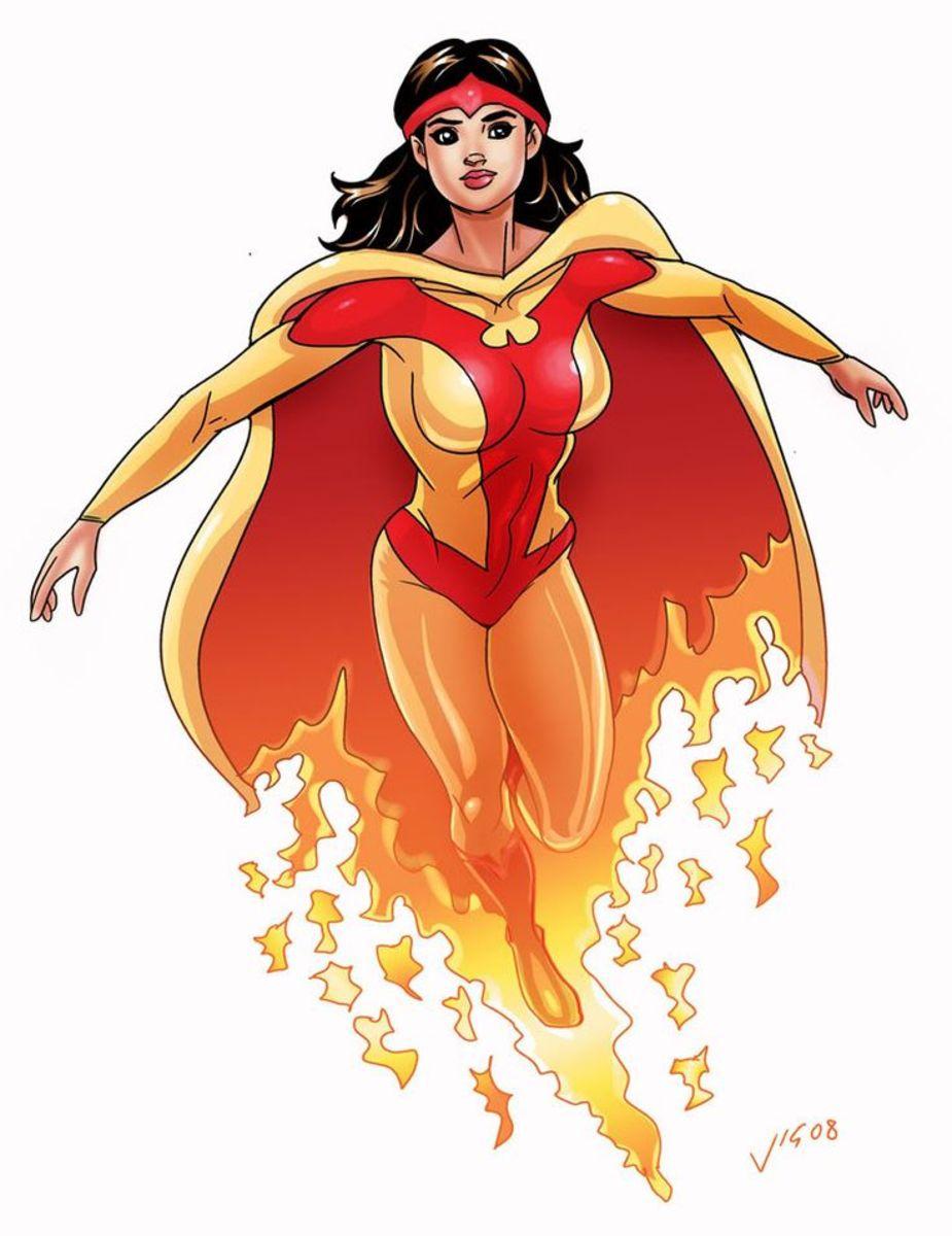 Firebird, aka Bonita Juarez, aka Espirita of the Rangers