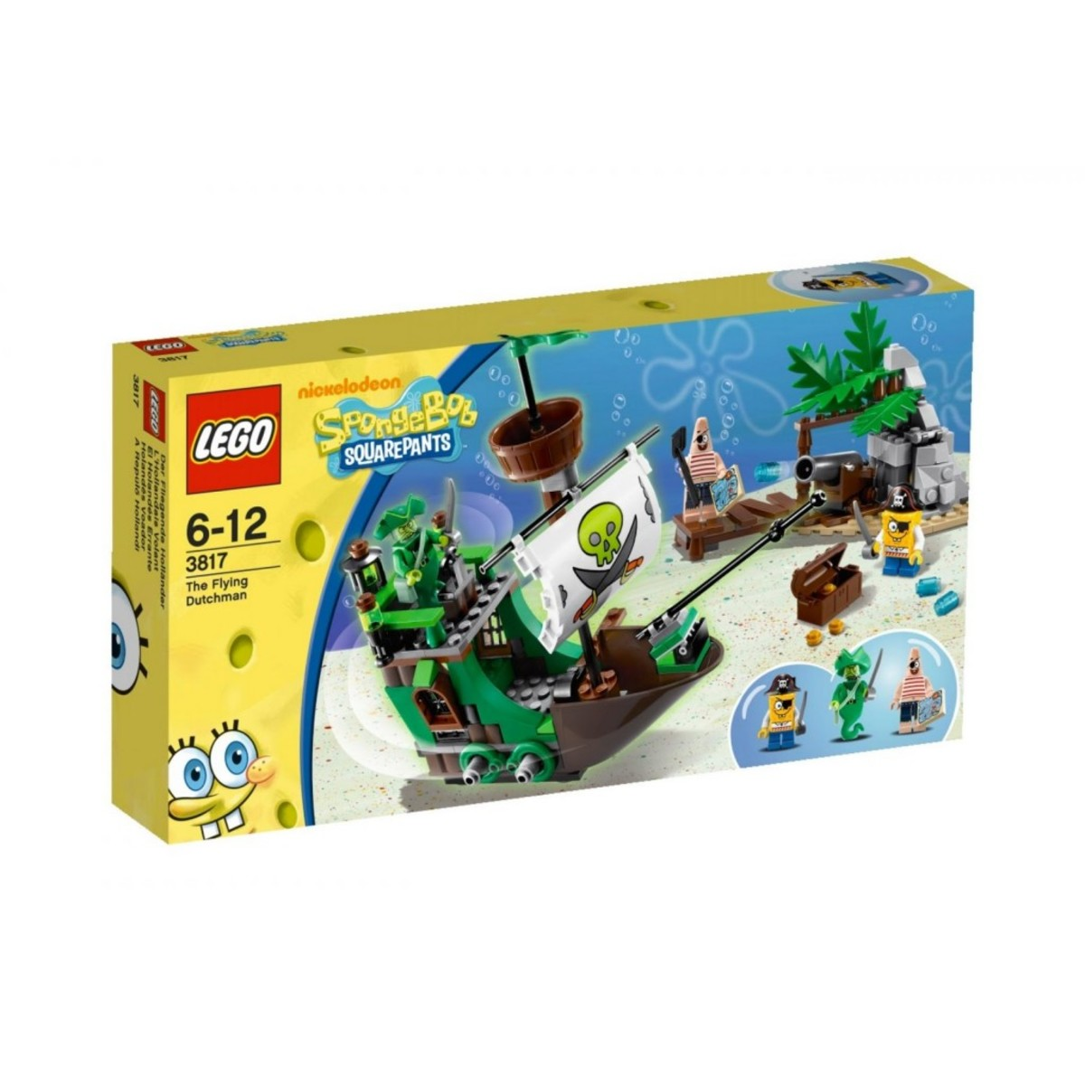 LEGO SpongeBob SquarePants The Flying Dutchman 3817 Box