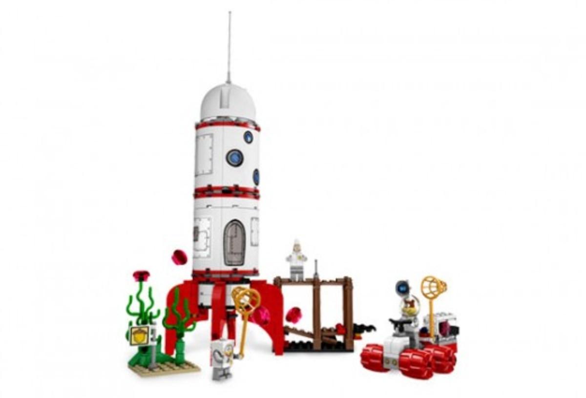 LEGO SpongeBob SquarePants Rocket Ride 3831 Assembled