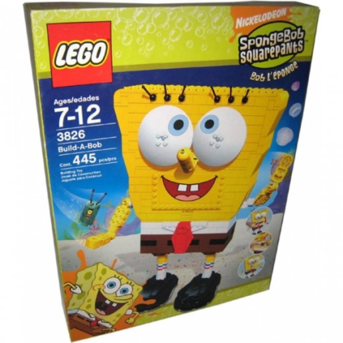 LEGO SpongeBob SquarePants Build-A-Bob 3826 Box