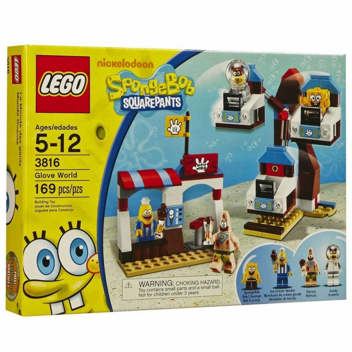 LEGO SpongeBob SquarePants Glove World 3816 Box