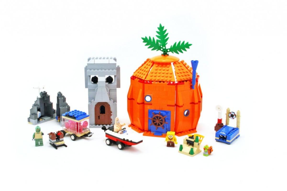 Lego Spongebob Squarepants Building Set List