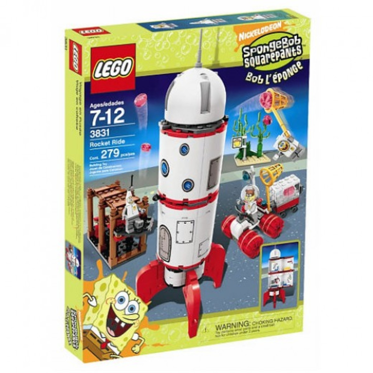 LEGO SpongeBob SquarePants Rocket Ride 3831 Box