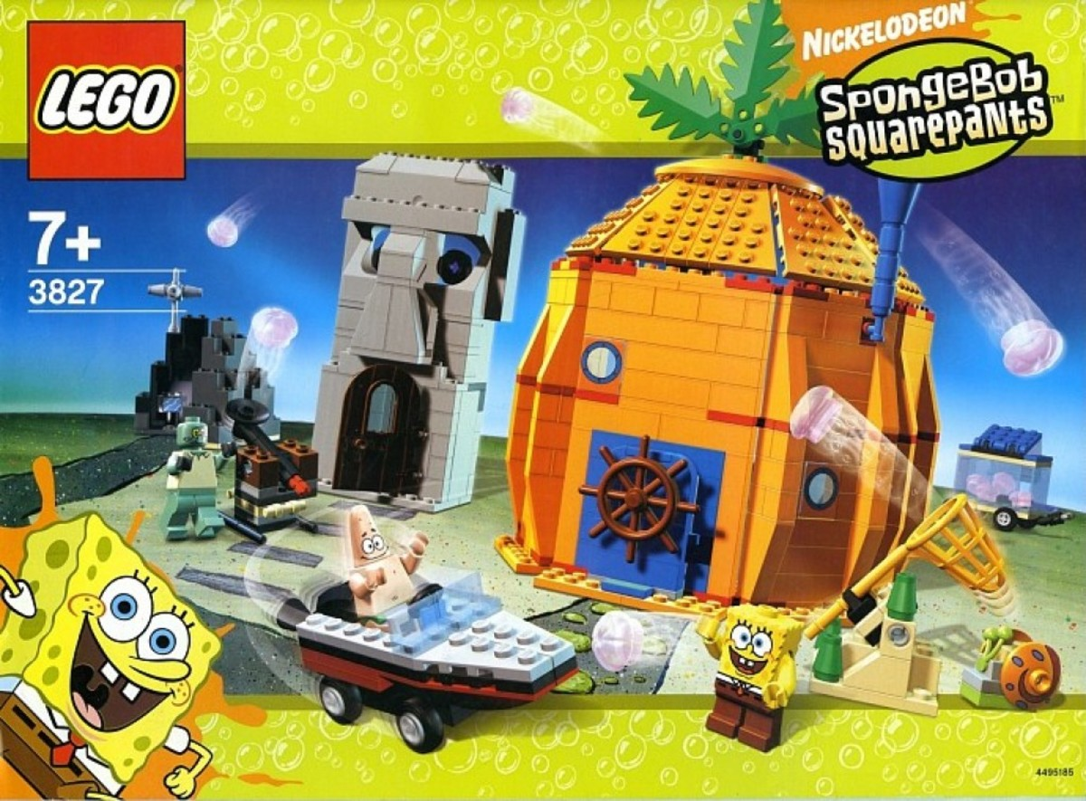 LEGO SpongeBob SquarePants Adventures In Bikini Bottom 3827 Box
