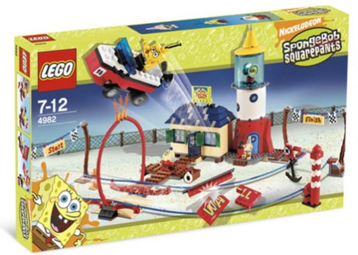 LEGO SpongeBob SquarePants Mrs. Puff's Boating School 4982 Box