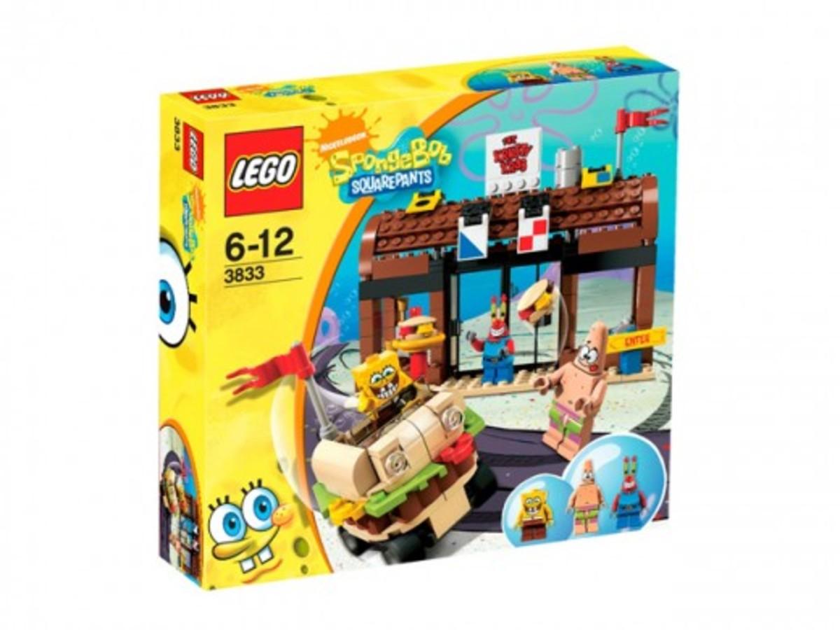 LEGO SpongBob SquarePants Krusty Krab Adventures 3833 Box
