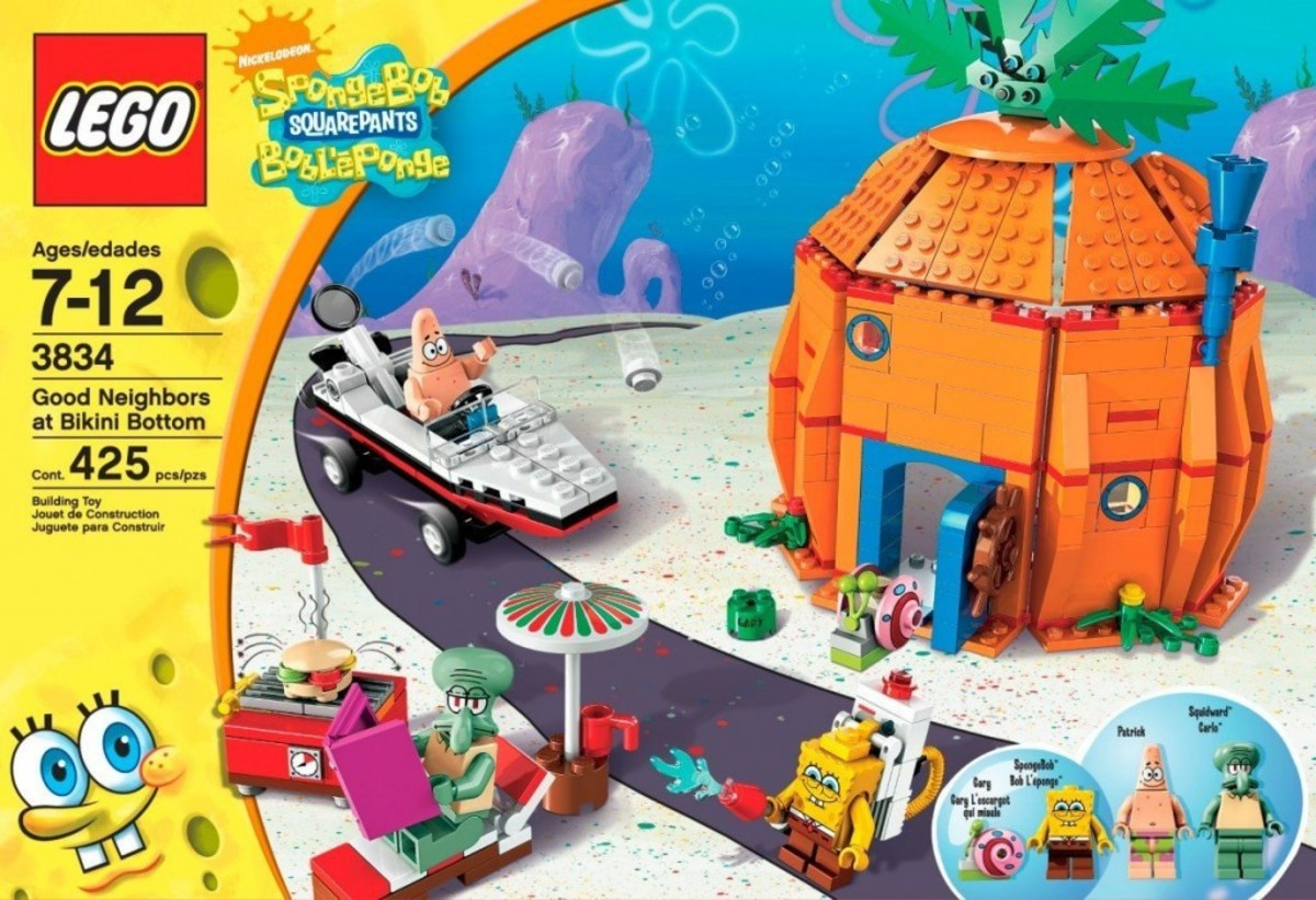 LEGO SpongeBob SquarePants Good Neighbours At Bikini Bottom 3834 Box