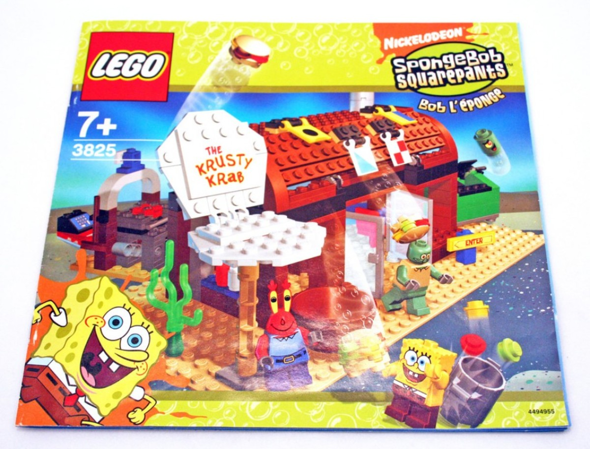 LEGO SpongeBob SquarePants Krusty Krab 3825 Box