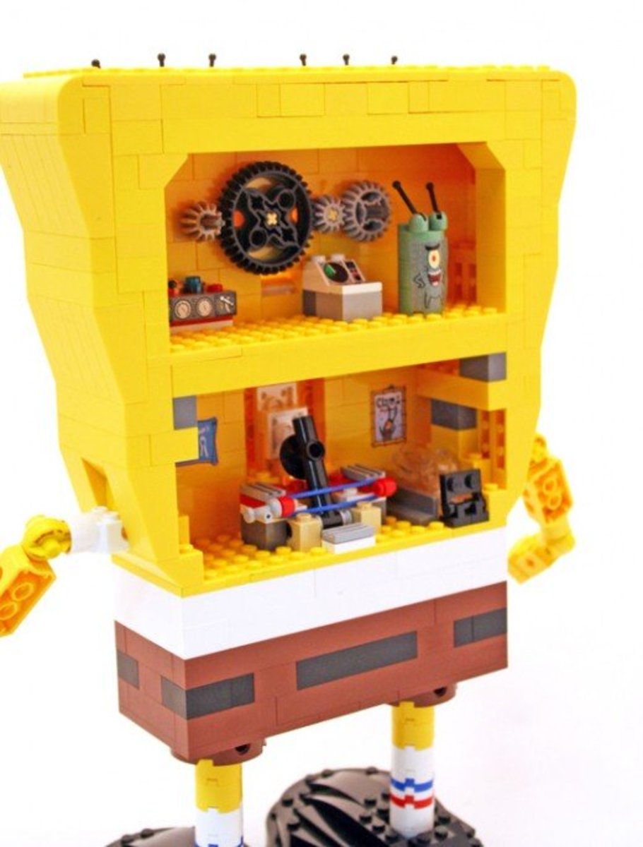 how to clean assembled legos