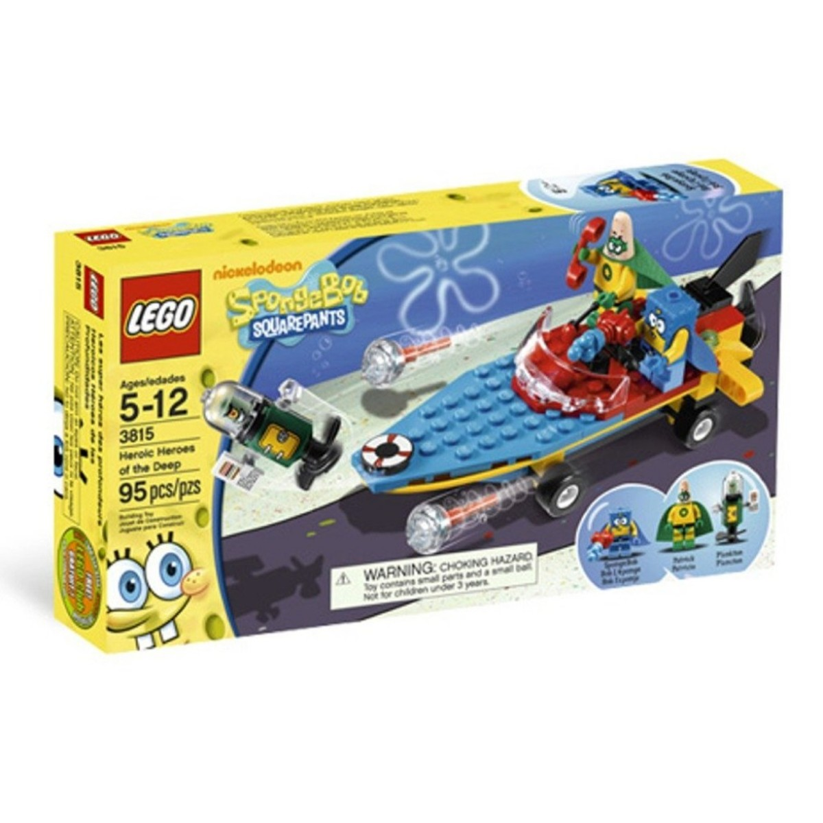 LEGO SpongeBob SquarePants Heroic Heroes Of The Deep 3815 Box