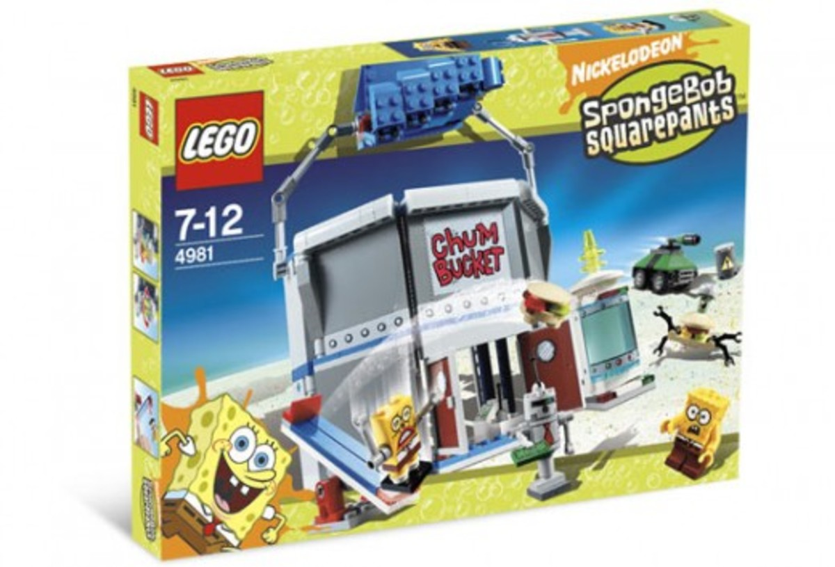 LEGO SpongeBob SquarePants Chum Bucket 4981 Box