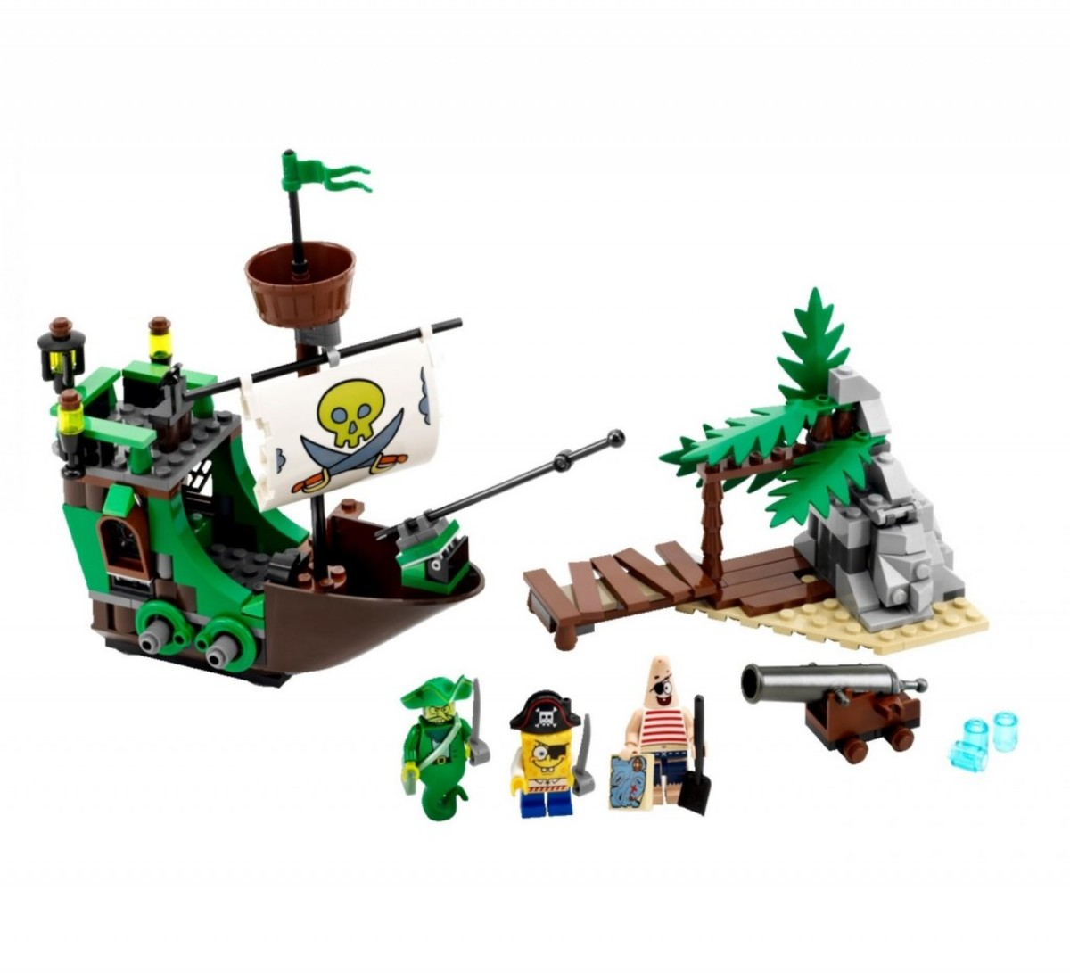 LEGO SpongeBob SquarePants The Flying Dutchman 3817 Assembled
