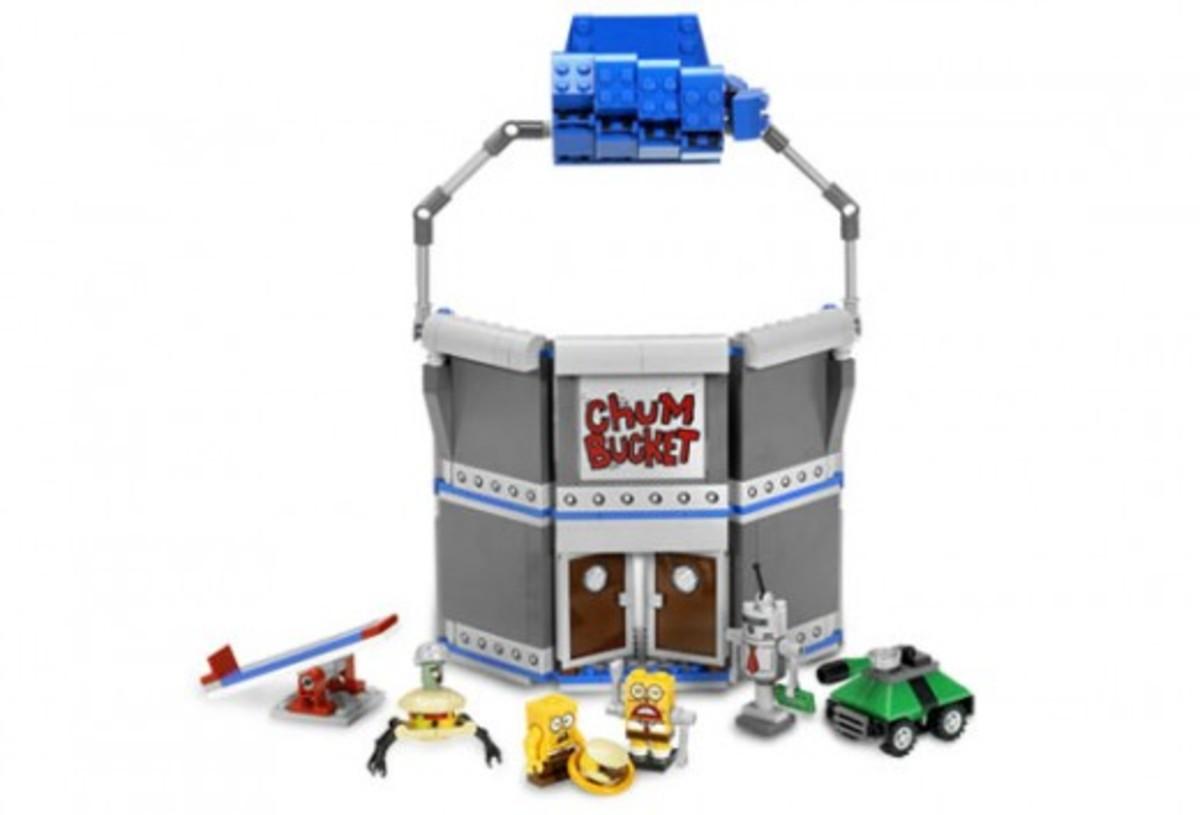 LEGO SpongeBob SquarePants Chum Bucket 4981 Assembled Front