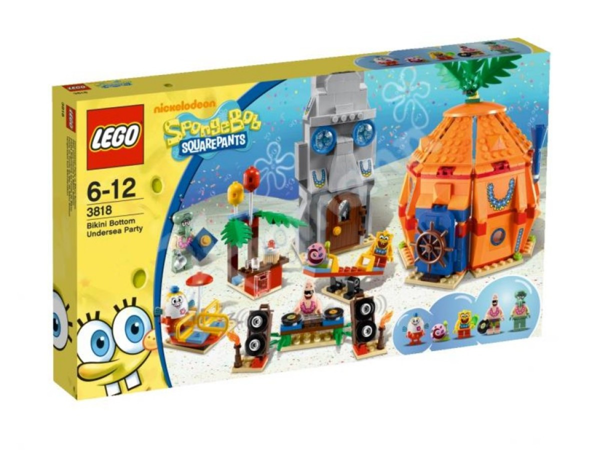 LEGO SpongeBob SquarePants Bikini Bottom Undersea Party 3818 Box