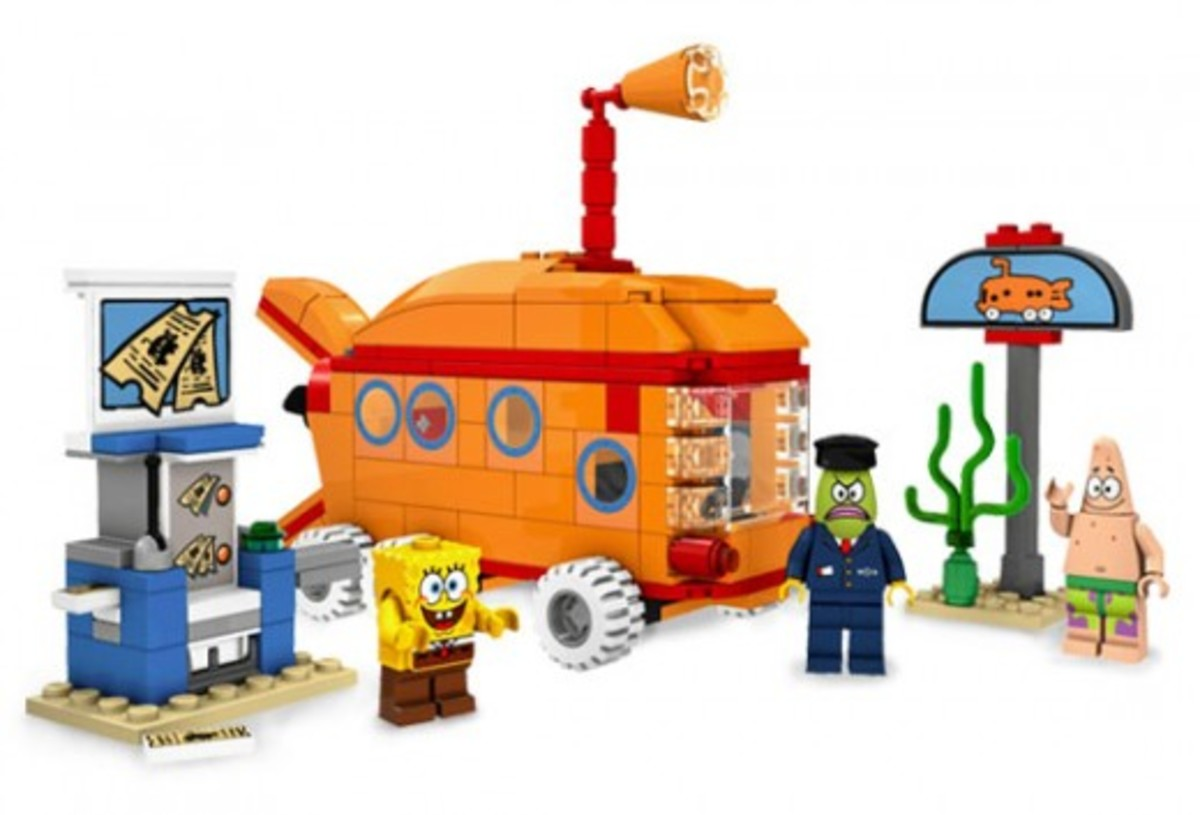 LEGO SpongeBob SquarePants The Bikini Bottom Express 3830 Assembled