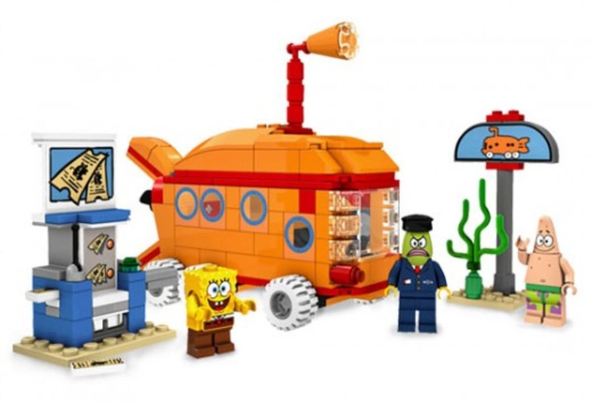 LEGO SpongeBob SquarePants The Bikini Bottom Express 3830 Assembled