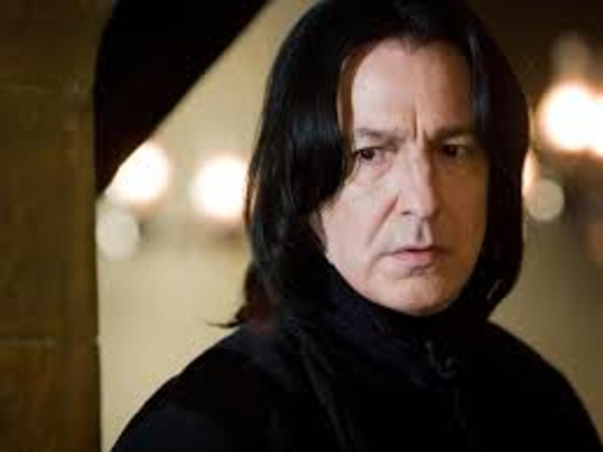Alan Rickman, The Story of Professor Snape