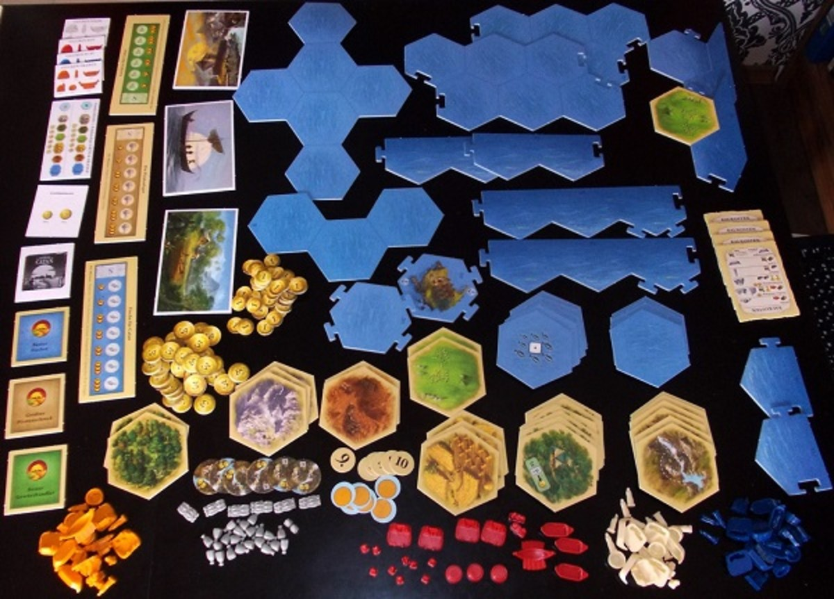 catan traders and barbarians how to play