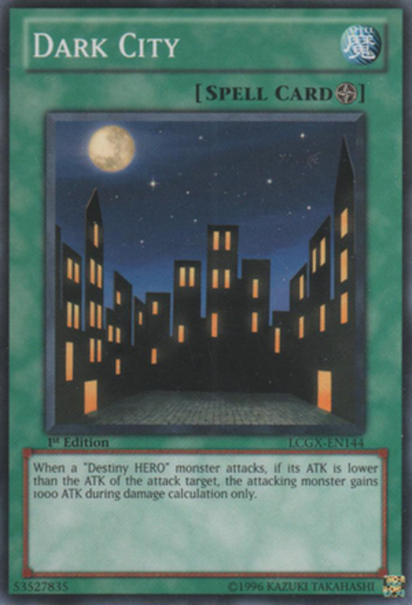 Dark City, which can boost the attack of Destiny monsters.