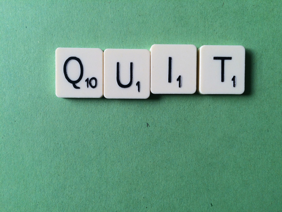 When is quitting the right option