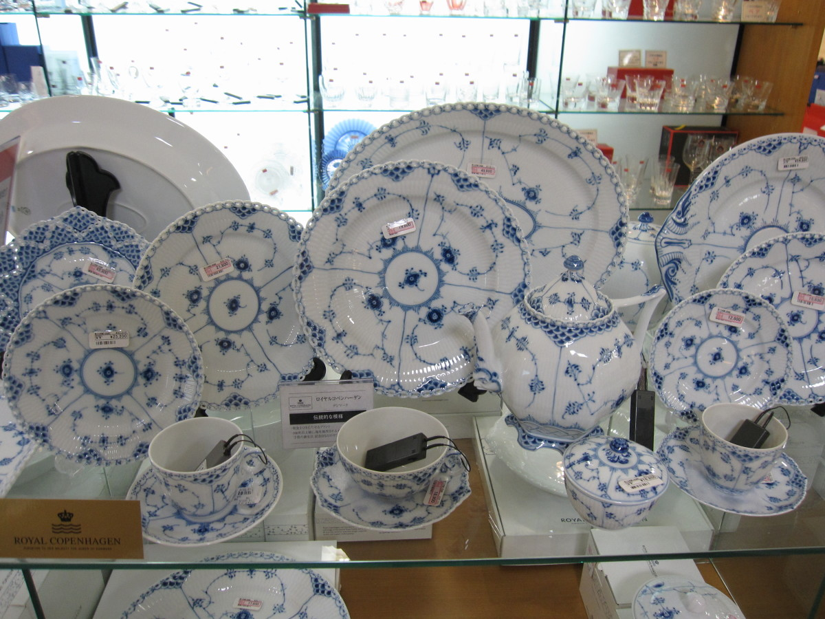 Royal Copenhagen Blue Fluted dishware