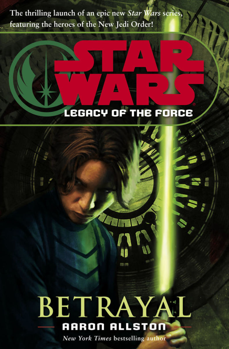 """Betrayal"" is the first book from ""Legacy of the Force."""