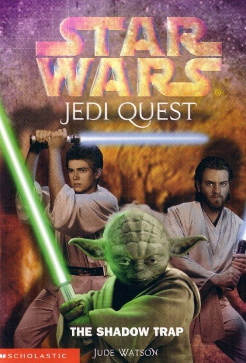"""The Shadow Trap"" is the sixth book from ""Jedi Quest."""