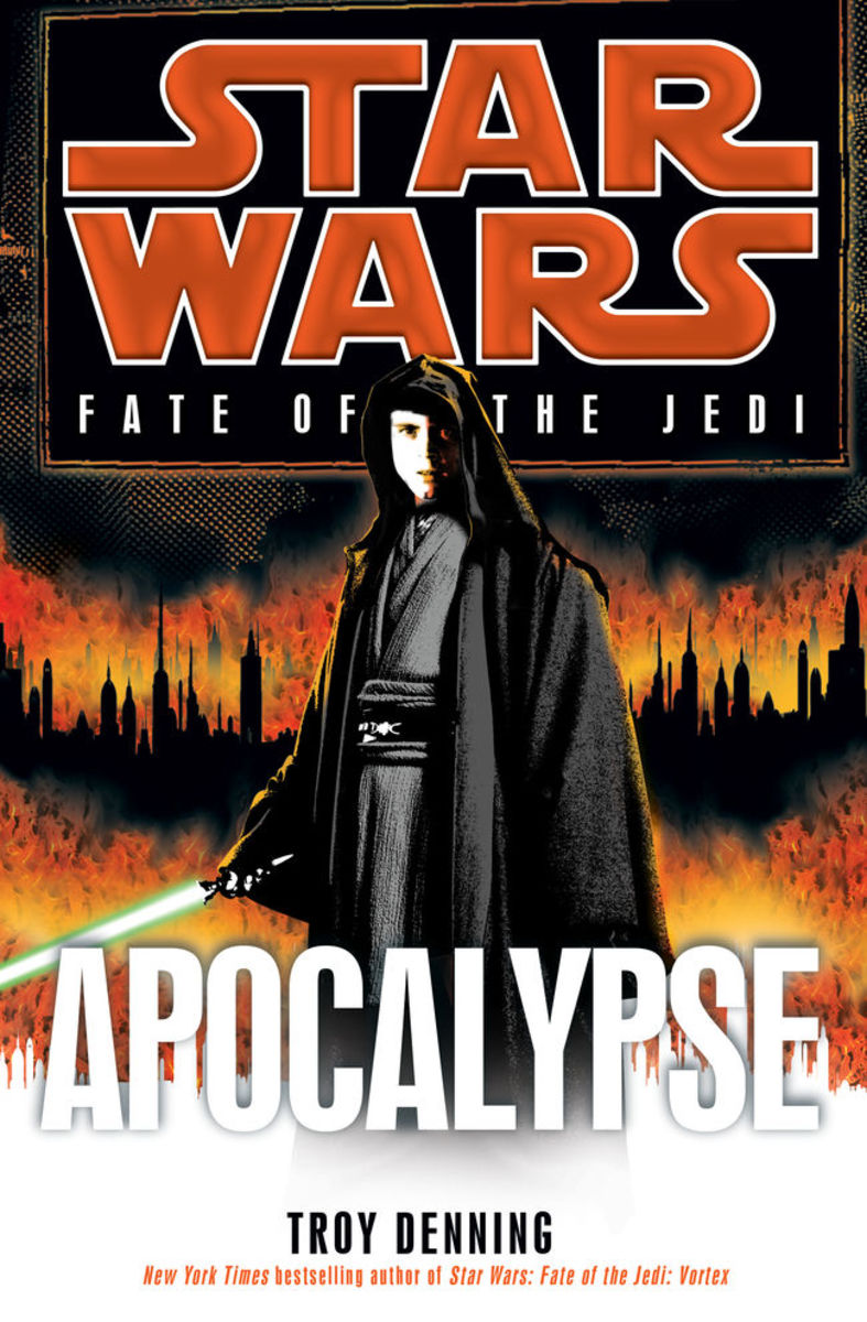 """Apocalypse"" is the ninth and final book from ""Fate of the Jedi."""