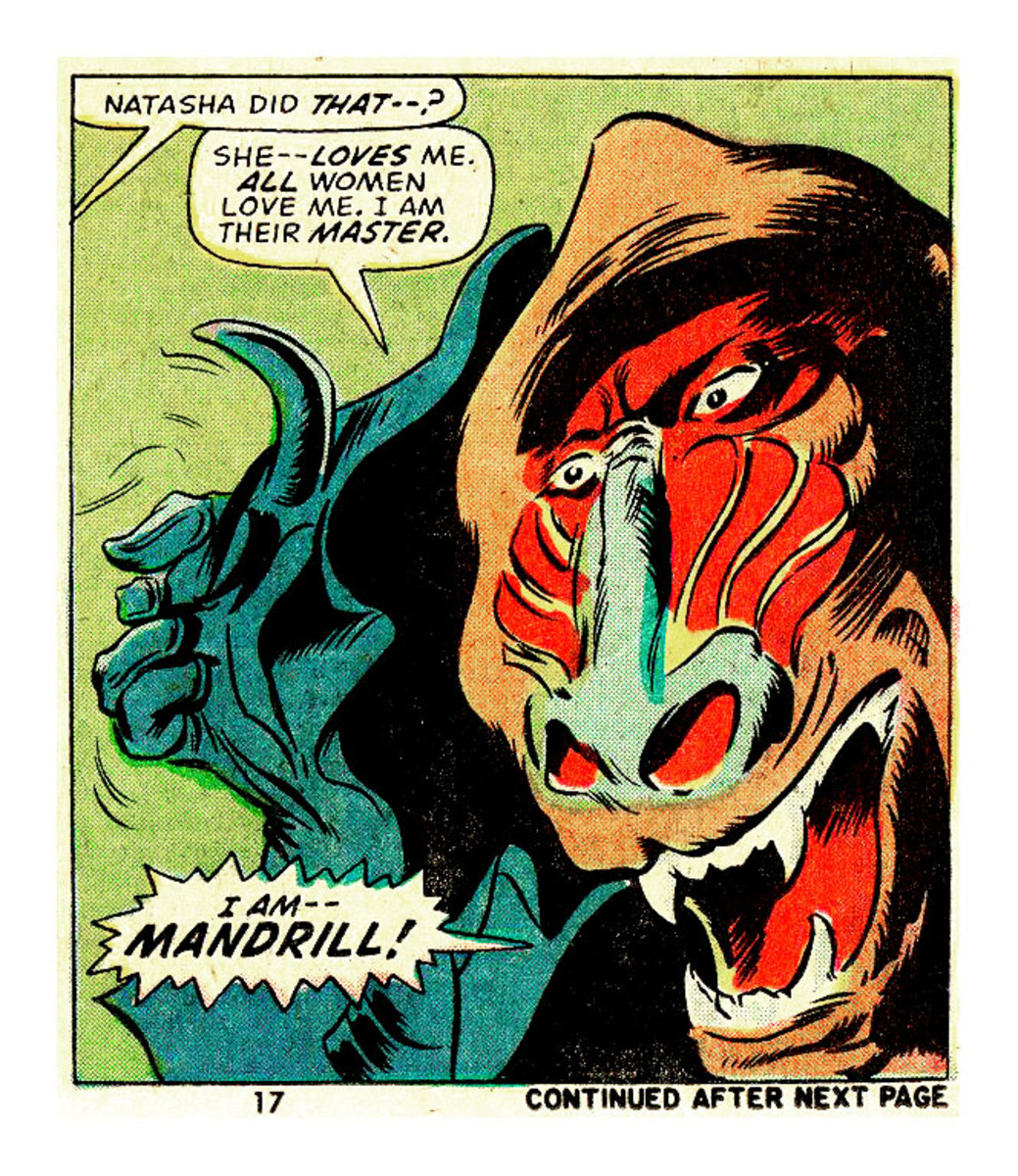 The Mandrill, Head of Black Spectre