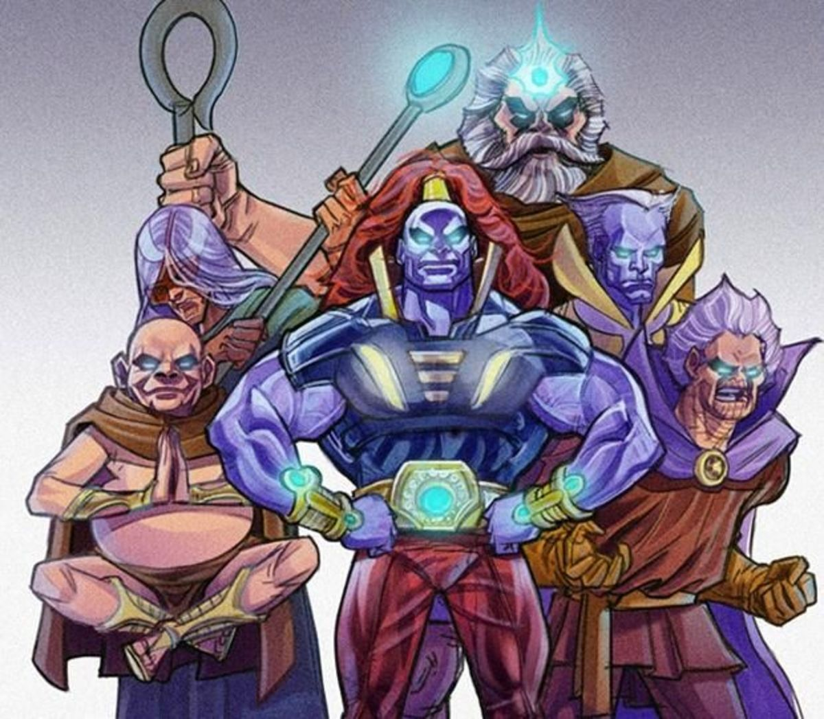 The Elders of the Universe