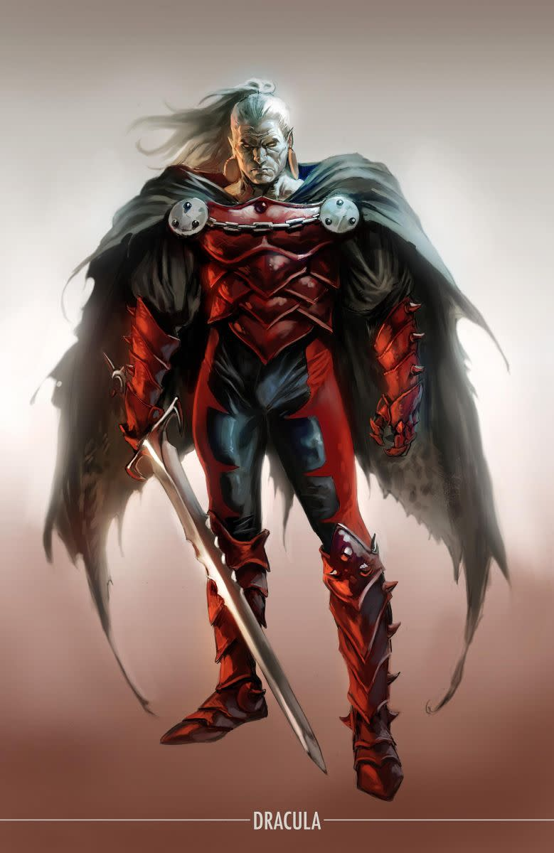 Dracula's new look for Marvel