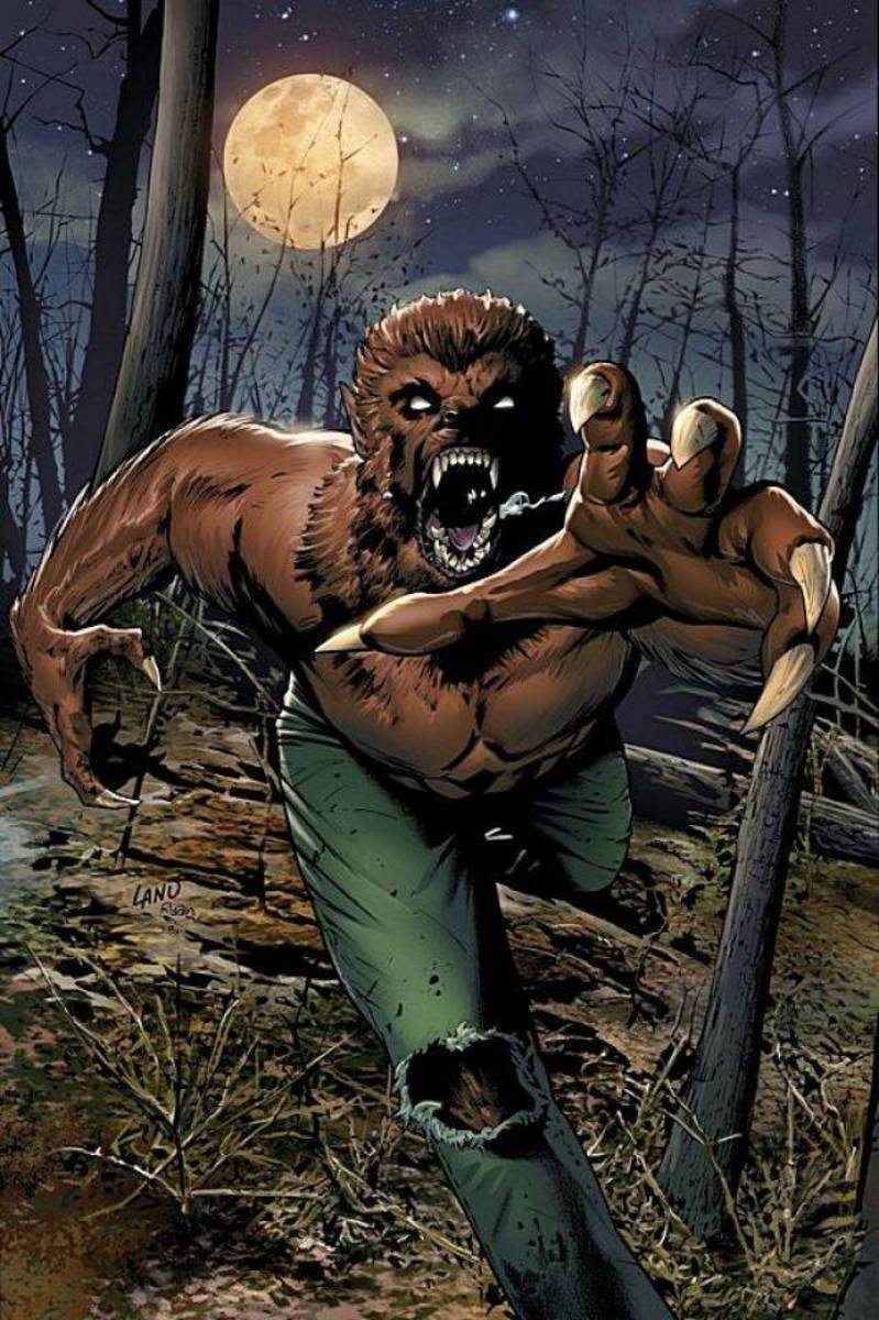 Jack Russell as the Werewolf