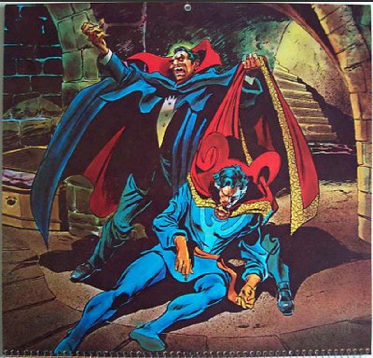 Dracula versus Doctor Strange