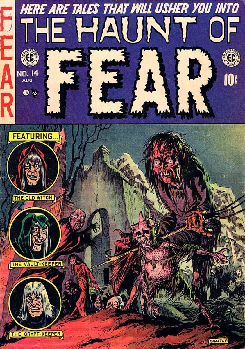 The Haunt of Fear by EC.  Great even after all this time