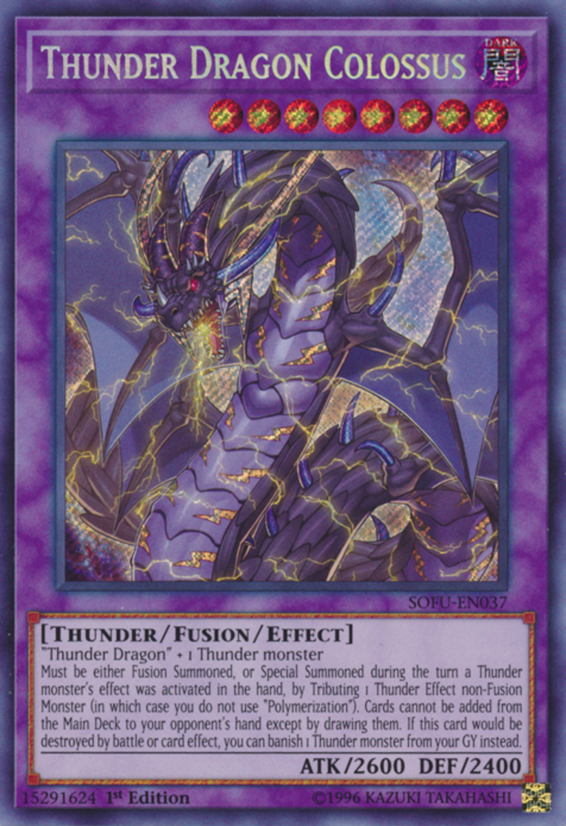 This oversized thunder-lizard claiming to be a dragon can bring the thunder, the rain, and the pain, especially early game.  But it's all right.  The writer has a Breakthrough Skill with his name on it.