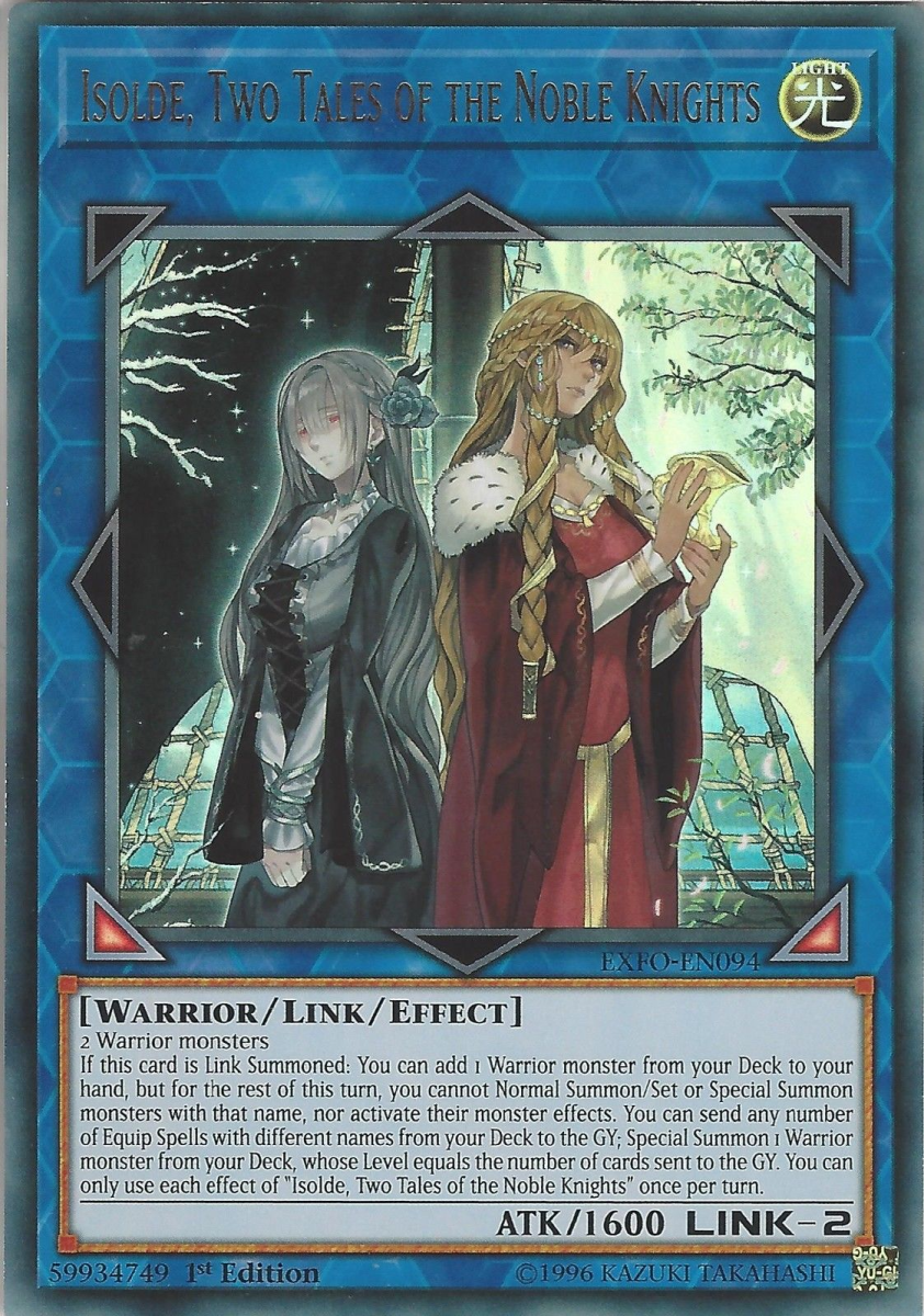 "The woman on the right looks suspicious and vicious, while the one on the left looks sad and solemn.  In these ""noble knights'"" quest for chalices, divine right, and endless equip cards, where do the women stand?"