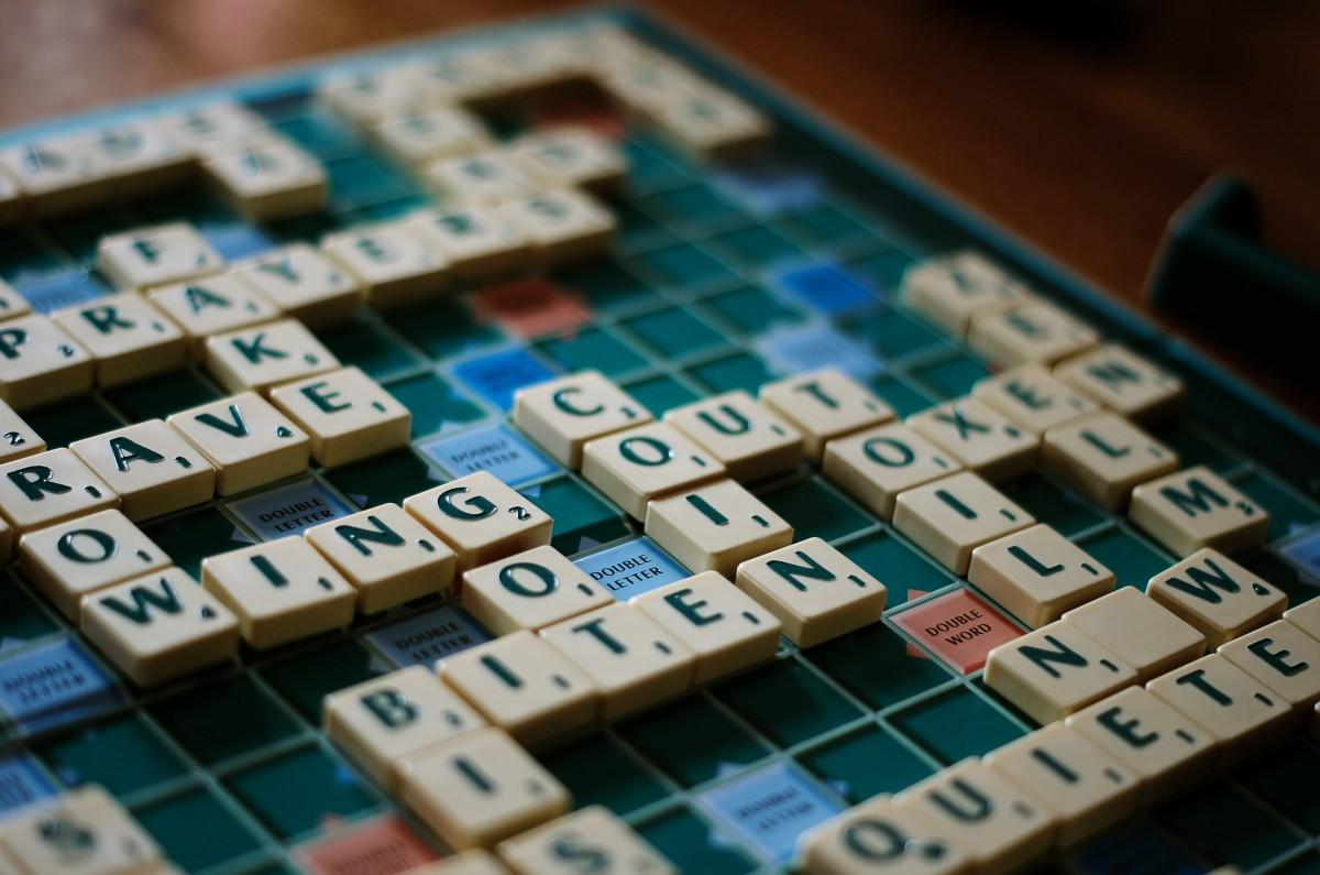 A Scrabble Game in Progress