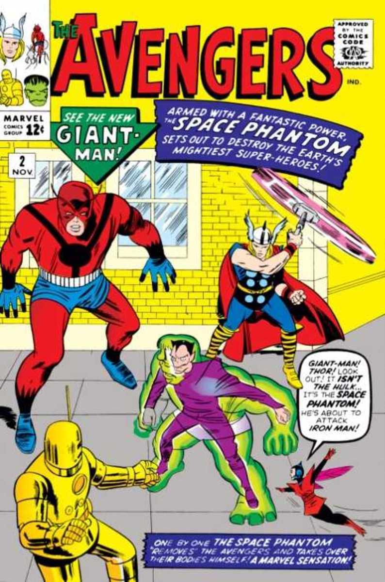Avengers #2 against the Space Phantom