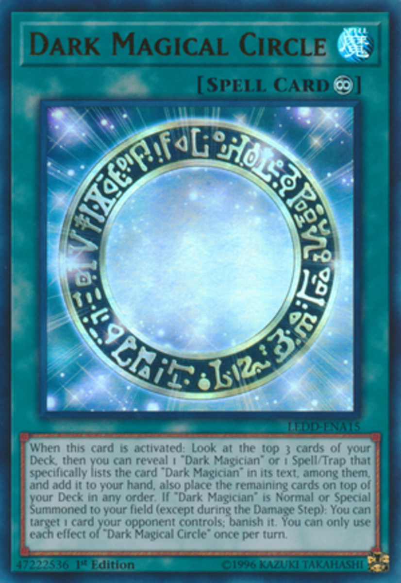 Hey, look!  A Pot of Duality without the no Special Summoning condition that banishes when you summon a monster!  Boy what the writer would give to have a taste of the Dark Magician's power…