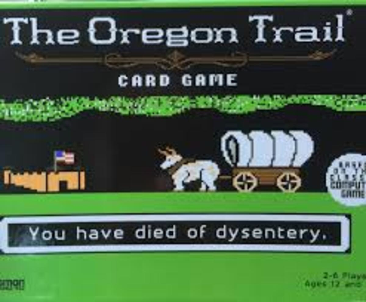 Board Game Review: The Oregon Trail Card Game